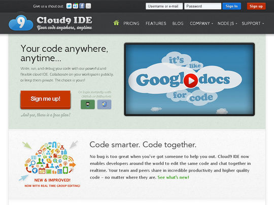 14 Online Code Editors For Web Designers And Developers 15