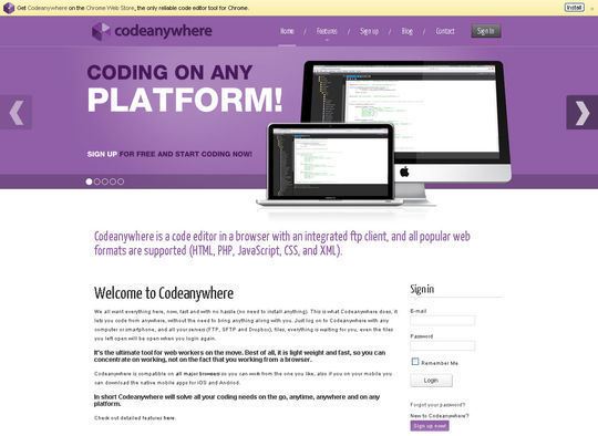 14 Online Code Editors For Web Designers And Developers 2