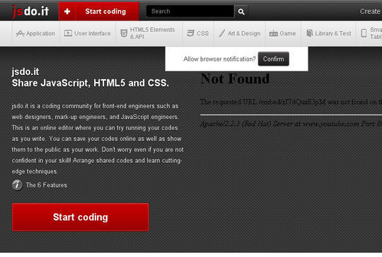 14 Online Code Editors For Web Designers And Developers 4