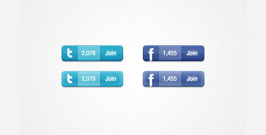 45 Free And Useful Web Buttons In PSD Format 18