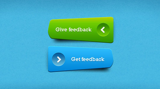 45 Free And Useful Web Buttons In PSD Format 2