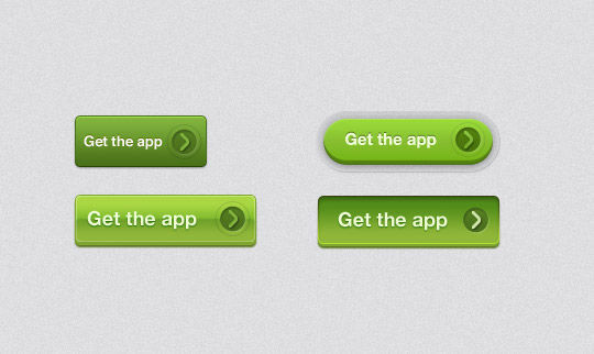 45 Free And Useful Web Buttons In PSD Format 4