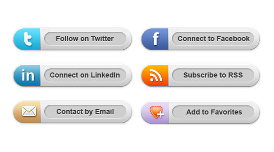 45 Free And Useful Web Buttons In PSD Format 27