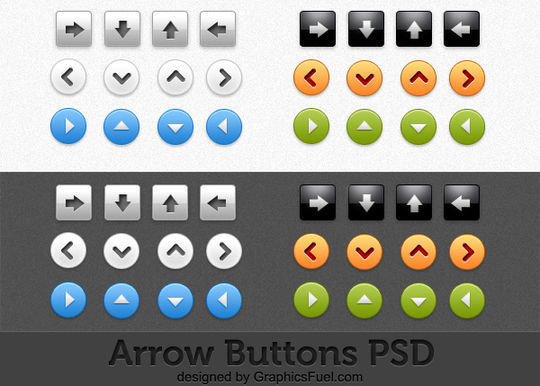 45 Free And Useful Web Buttons In PSD Format 29