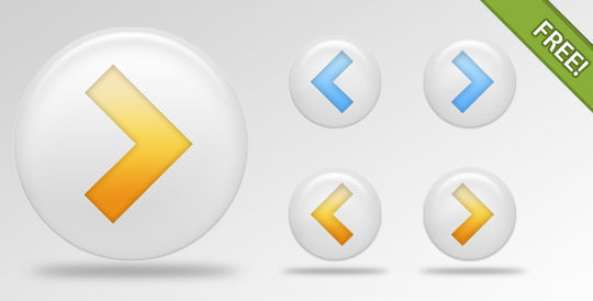 45 Free And Useful Web Buttons In PSD Format 32