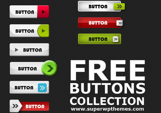 45 Free And Useful Web Buttons In PSD Format 8
