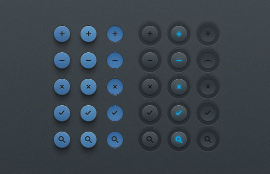 45 Free And Useful Web Buttons In PSD Format 9