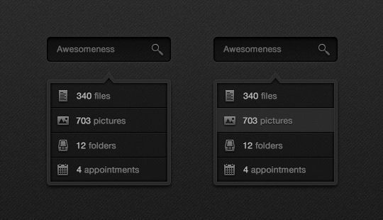45 Free And Useful Web Buttons In PSD Format 21