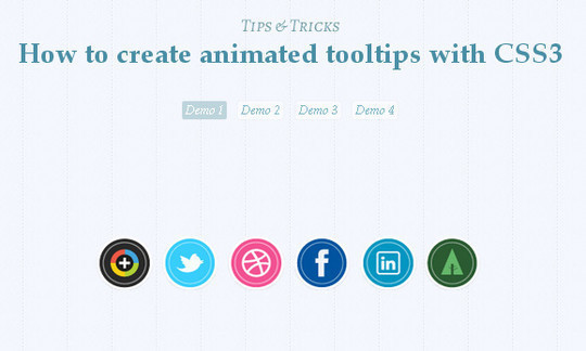 CSS3 Tutorials For Advanced User Interface Effects 10