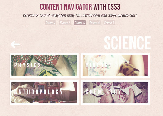 CSS3 Tutorials For Advanced User Interface Effects 7