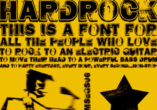 45 Dirty And Rough Free Fonts For Your Design 3