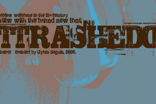 45 Dirty And Rough Free Fonts For Your Design 9