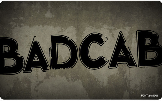 45 Dirty And Rough Free Fonts For Your Design 13