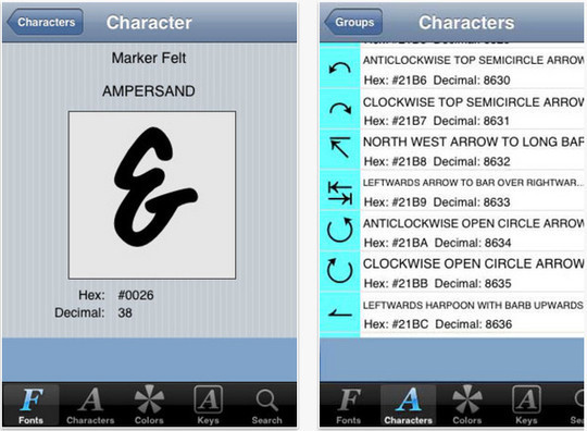 12 Free Font Apps For iPhone And iPad 5