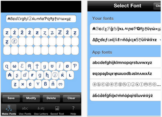 12 Free Font Apps For iPhone And iPad 2