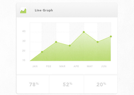 Wonderful Collection Of Free Chart And Graph PSD Designs 15