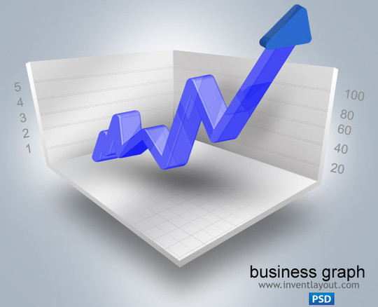 Wonderful Collection Of Free Chart And Graph PSD Designs 4