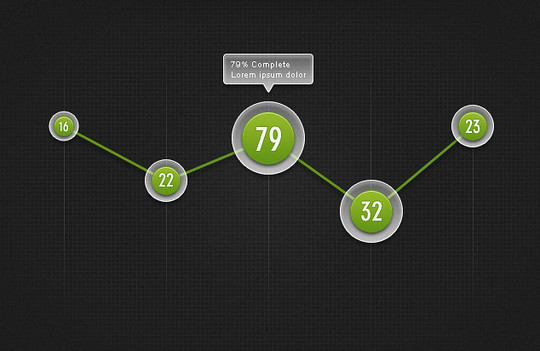 Wonderful Collection Of Free Chart And Graph PSD Designs 5