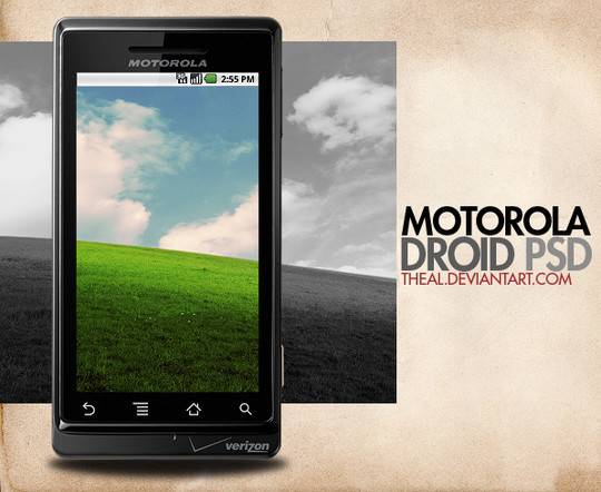 14 Free Mobile Phone And LCD Display PSD Template 4