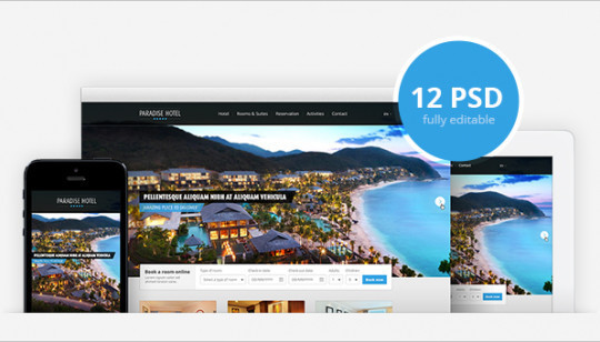 14 Fresh And Free PSDs Of Website Templates 1