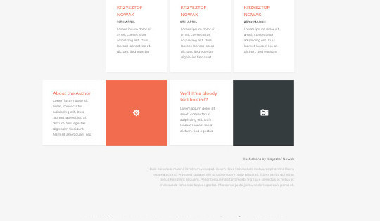 14 Fresh And Free PSDs Of Website Templates 6