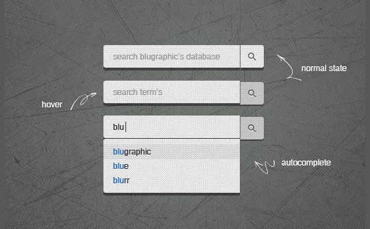45 Search Box PSD Designs For Free Download 2
