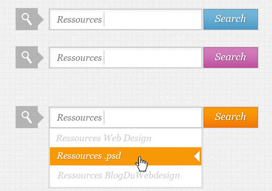45 Search Box PSD Designs For Free Download 7