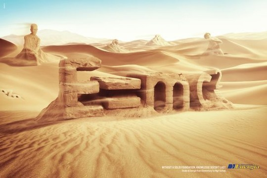 Creative Examples Of Typography In Print Advertisements 6