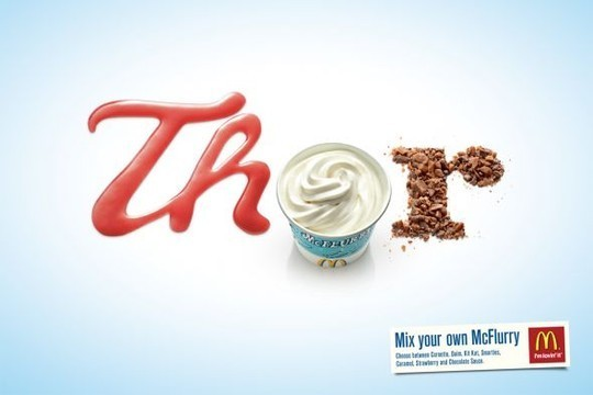 Creative Examples Of Typography In Print Advertisements 10
