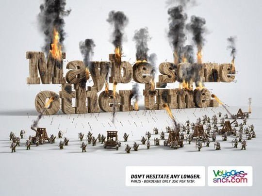 Creative Examples Of Typography In Print Advertisements 12