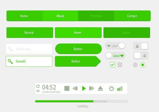 45 Fresh Web And Mobile UI Kits With PSD Files For Designer 35