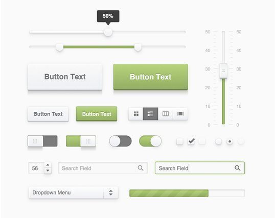 45 Fresh Web And Mobile UI Kits With PSD Files For Designer 23