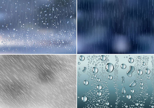 20 Free Water Wave & Bubbles Vector Backgrounds 7