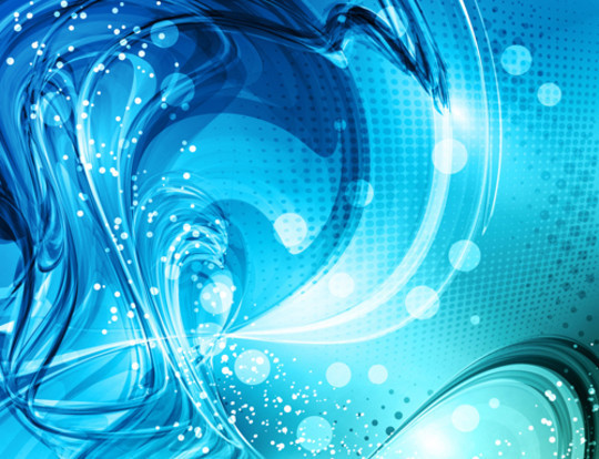 20 Free Water Wave & Bubbles Vector Backgrounds 11