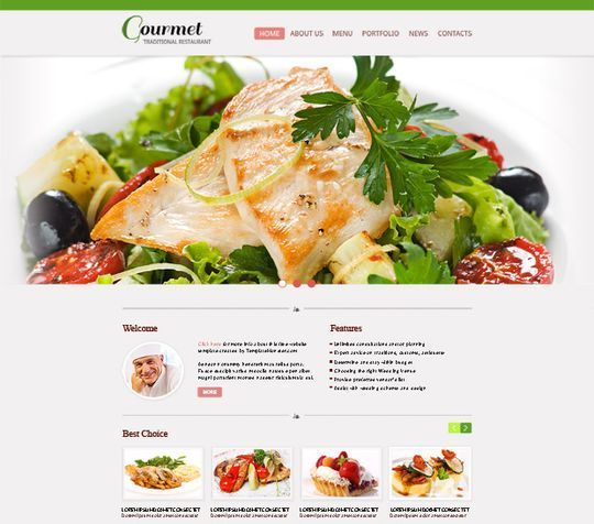 50 High Quality Free HTML5 And CSS3 Web Templates 2