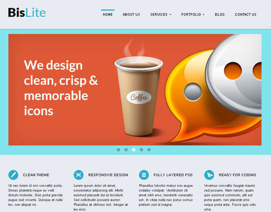 50 High Quality Free HTML5 And CSS3 Web Templates 5