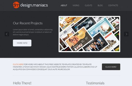 50 High Quality Free HTML5 And CSS3 Web Templates 3