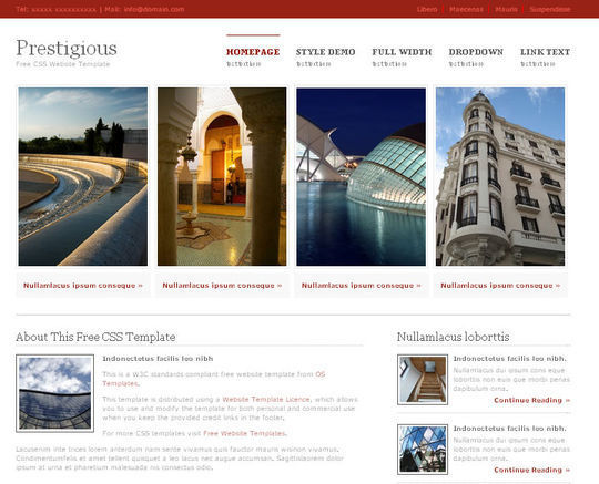 50 High Quality Free HTML5 And CSS3 Web Templates 34