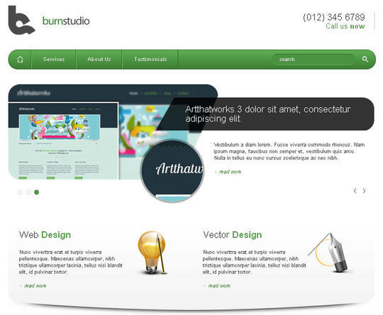 50 High Quality Free HTML5 And CSS3 Web Templates 22
