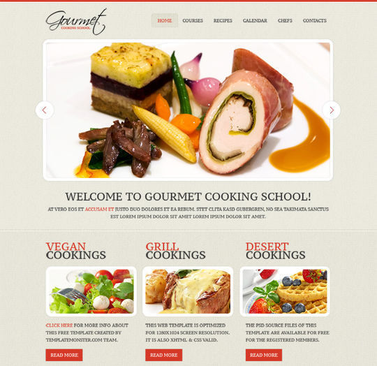 50 High Quality Free HTML5 And CSS3 Web Templates 4