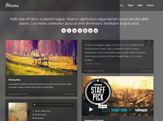 50 High Quality Free HTML5 And CSS3 Web Templates 26
