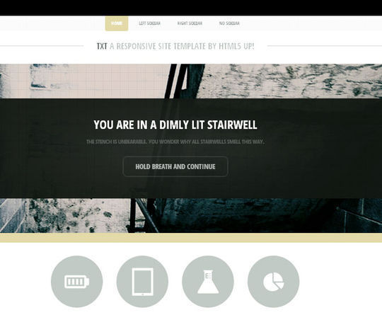 50 High Quality Free HTML5 And CSS3 Web Templates 28