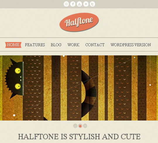 50 High Quality Free HTML5 And CSS3 Web Templates 30