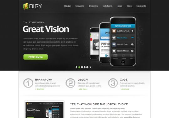 50 High Quality Free HTML5 And CSS3 Web Templates 38