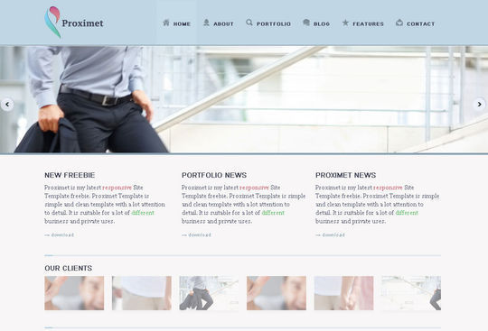 50 High Quality Free HTML5 And CSS3 Web Templates 40