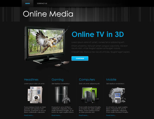 50 High Quality Free HTML5 And CSS3 Web Templates 41