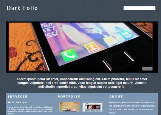 50 High Quality Free HTML5 And CSS3 Web Templates 42