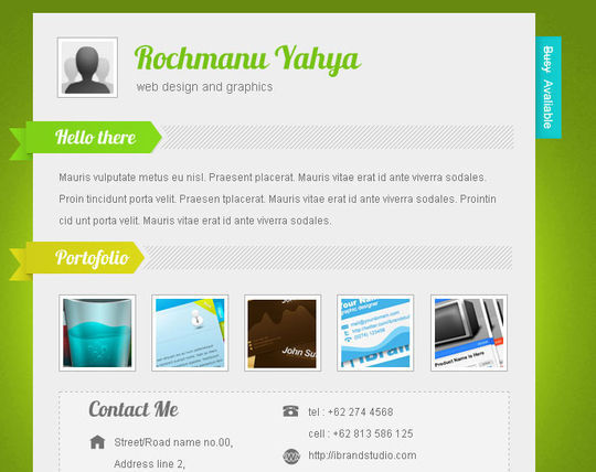 50 High Quality Free HTML5 And CSS3 Web Templates 43