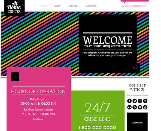50 High Quality Free HTML5 And CSS3 Web Templates 44