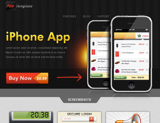 50 High Quality Free HTML5 And CSS3 Web Templates 46